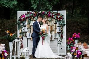Свадьба в европейском стиле (часть 1)