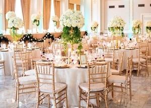Свадьба в цвете оформления айвори