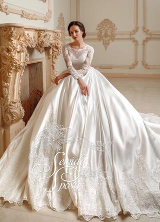 Свадебное платье S 019