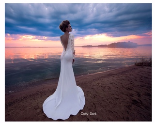 Свадебное платье Cutty Sark