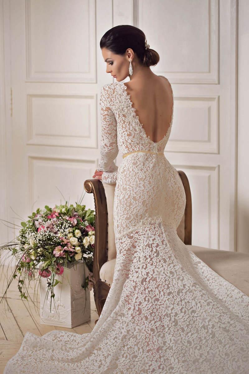 Свадебное платье Florence Gemila couture силуэта русалка