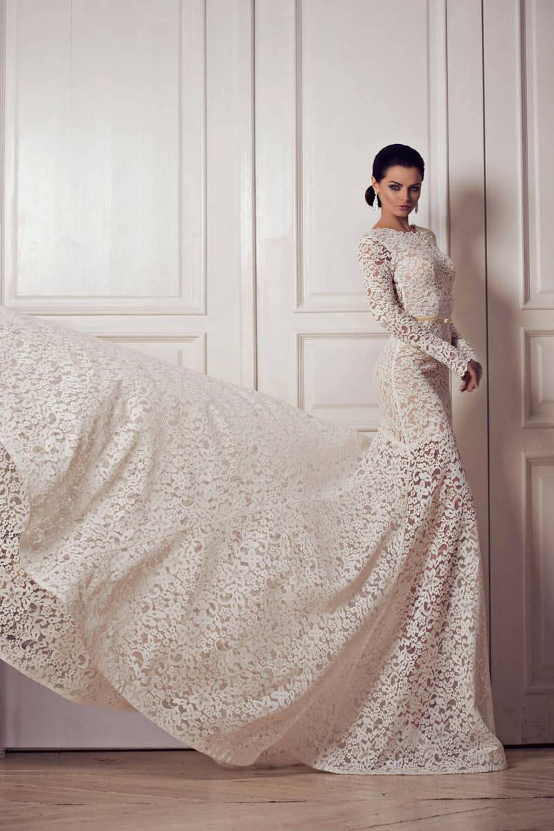 Новые тенденции моды: прозрачные свадебные платья